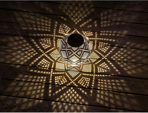 Solar Powered Geometric Pattern Light