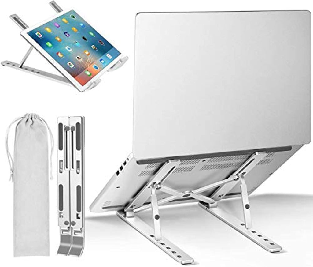 Aluminum Foldable Portable Desktop Holder Compatible
