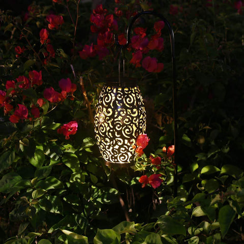 Solar Powered Cloud Hollow Garden Light