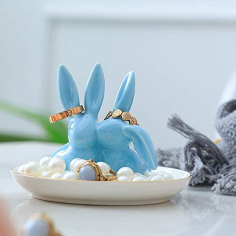 Adorable Bunny Ring Holder