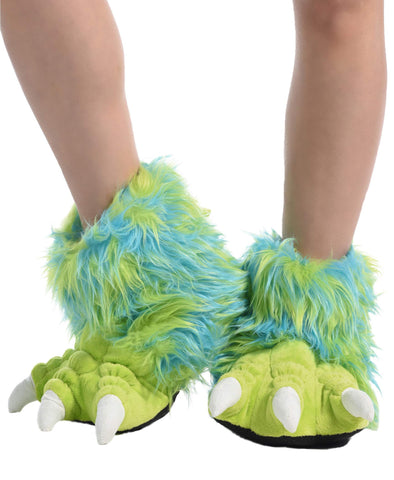 Lazy One Animal Paw Slippers for Adults and Kids