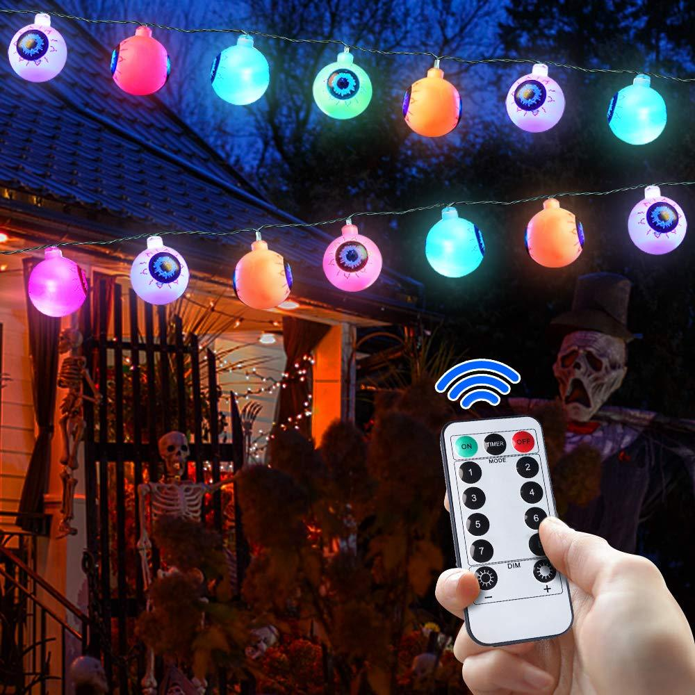 Halloween Eyeballs String Light