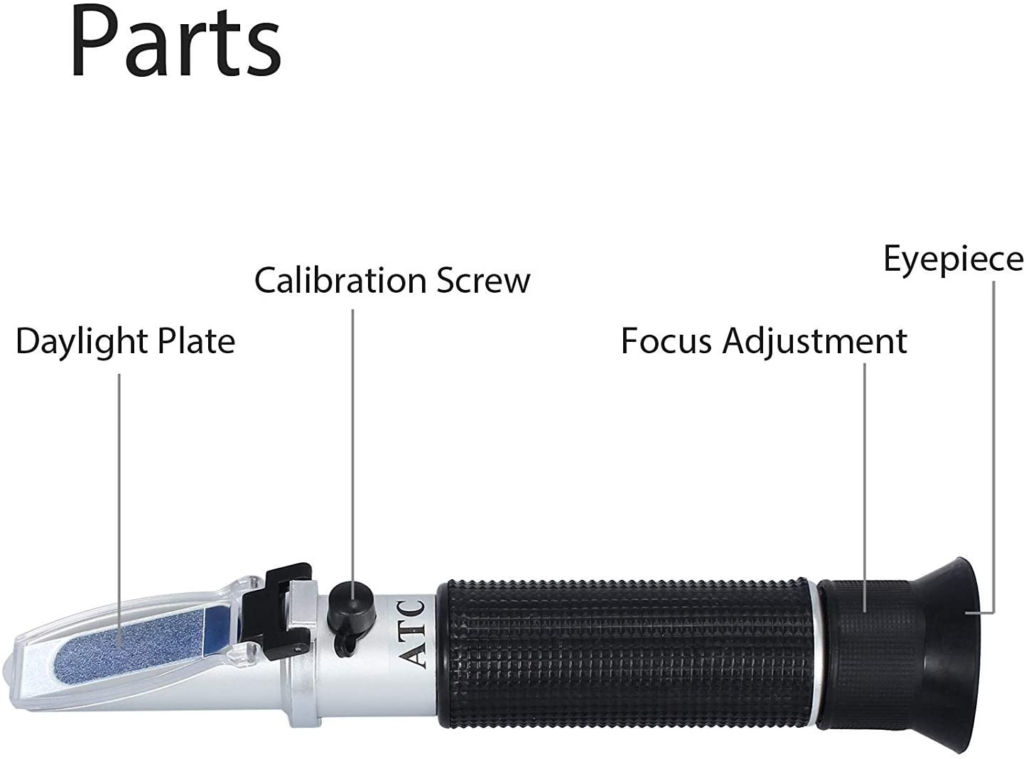 Aquarium Salinity Refractometer