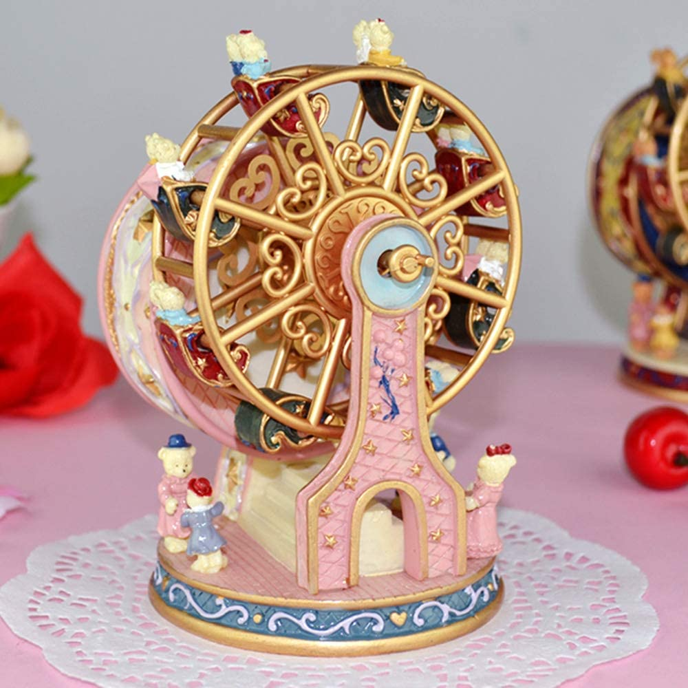 Rotating Ferris Wheel Music Box