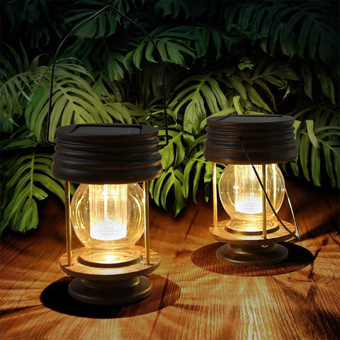 Retro Design Landscape Lanterns