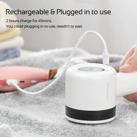 Rechargeable Electric Lint Remover