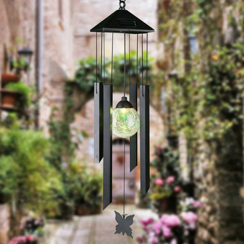 Wind Chime Changing Color Solar Lights