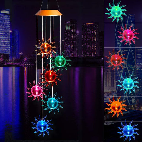 Solar-Powered Sun Lights