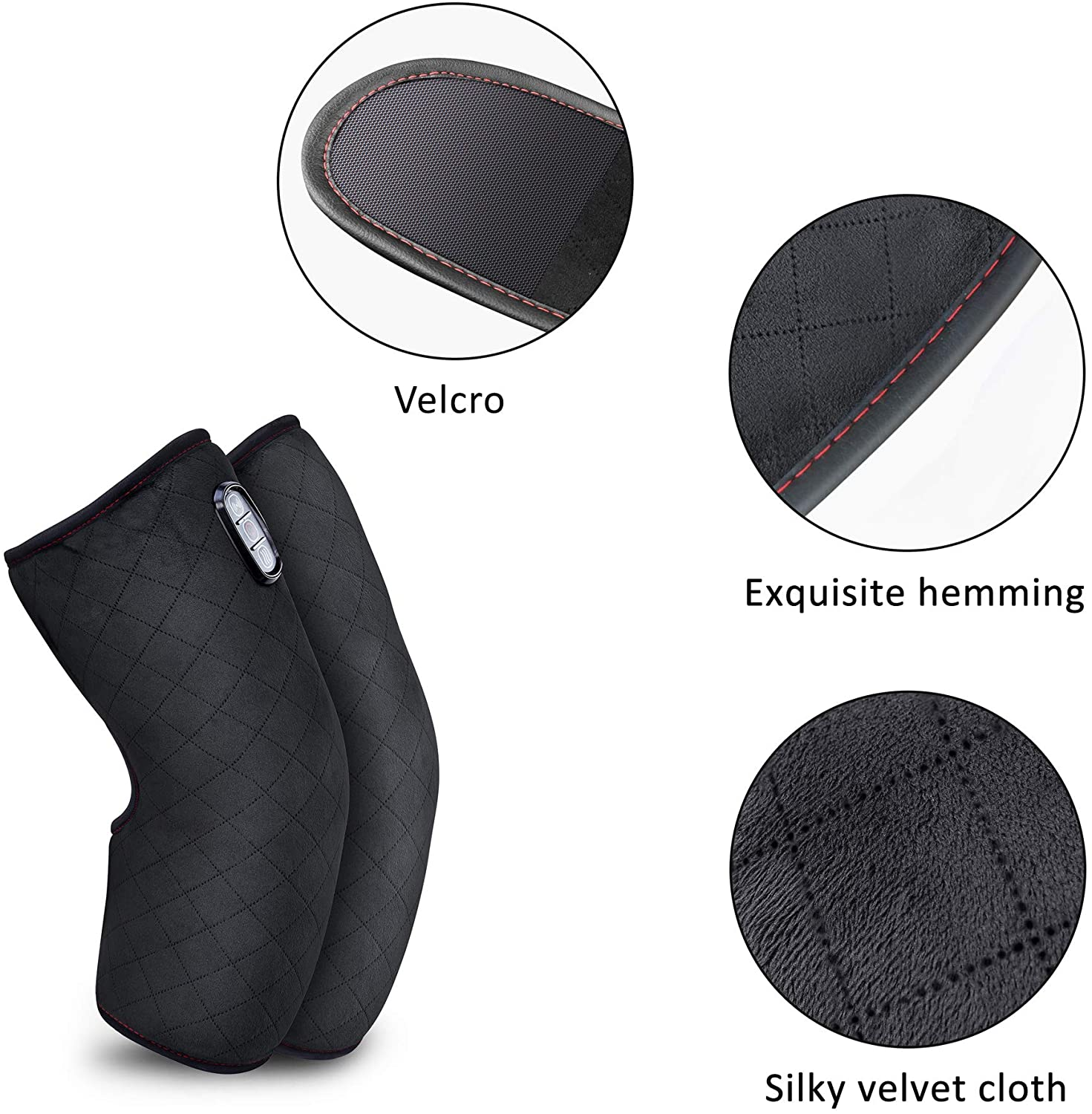 Vibration Joint Massager with Heating Pad for Pain