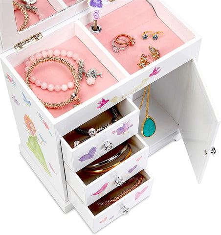 Castle Musical Jewelry Box