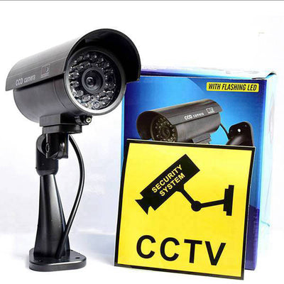 camera de surveillance exterieur factice paquet