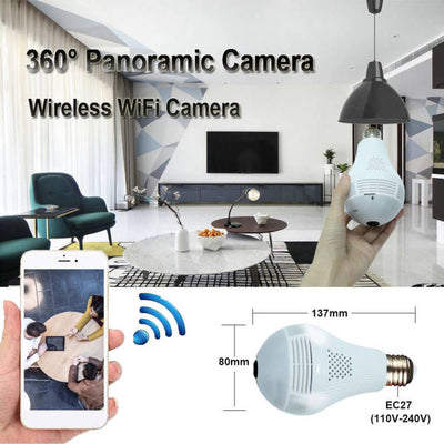 camera espion ampoule wifi