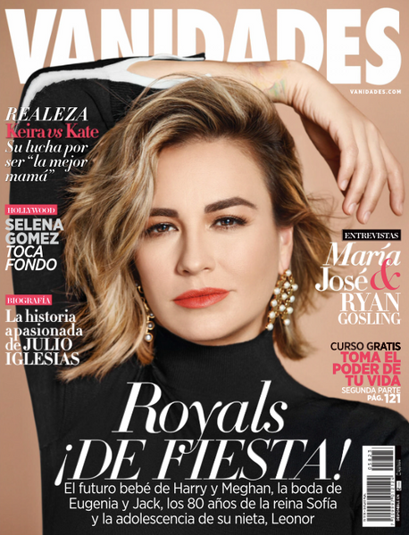 Vanidades cover for the November 2018 edition