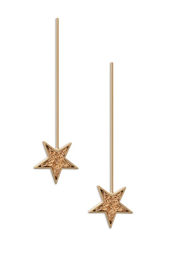 Magic wand earrings
