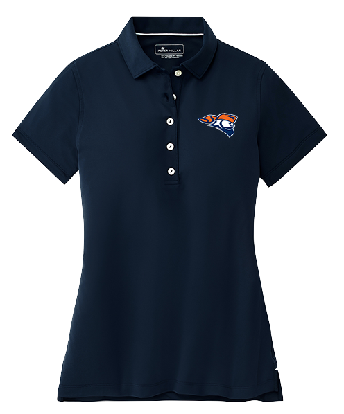 Peter Millar Ladies Short Sleeve Button Polo