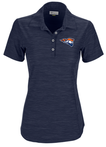 Greg Norman Ladies Play Dry® Heather Solid Polo