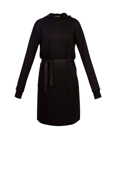 Hooded French Terry Dress