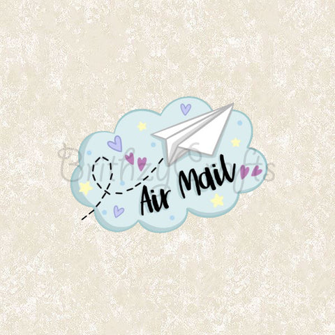 Air mail stickers - Set of 36