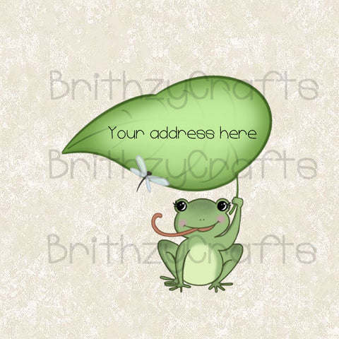 Little Frog Address Labels