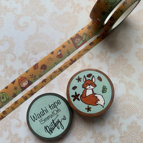 Fall Frenzy Washi Tape