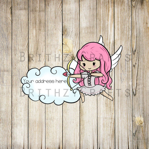 Cotton Cupid Address Labels