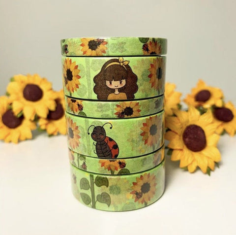 Sunflower Fields Washi Tape