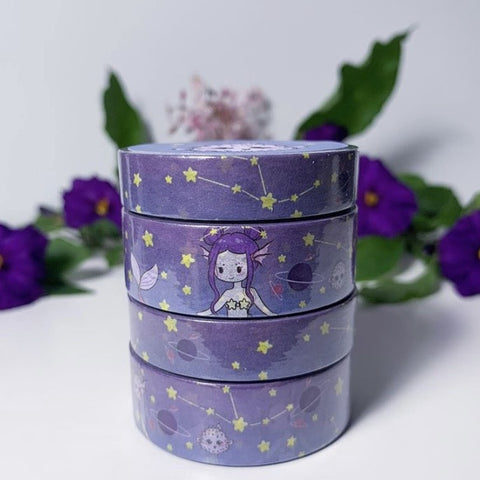 Space Mermaid Washi Tape