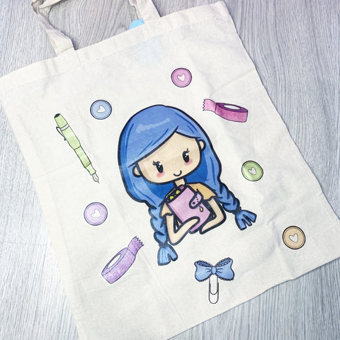 Planner Babe tote bag