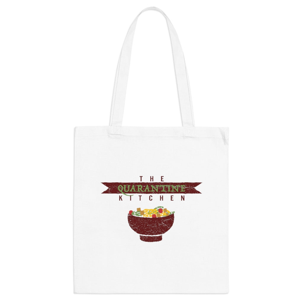 100% Cotton The Quarantine Kitchen Tote Bag