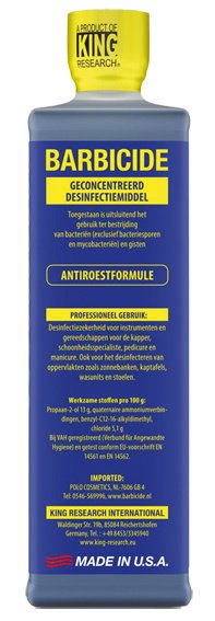 Barbicide Desinfectie Concentraat 480 ml