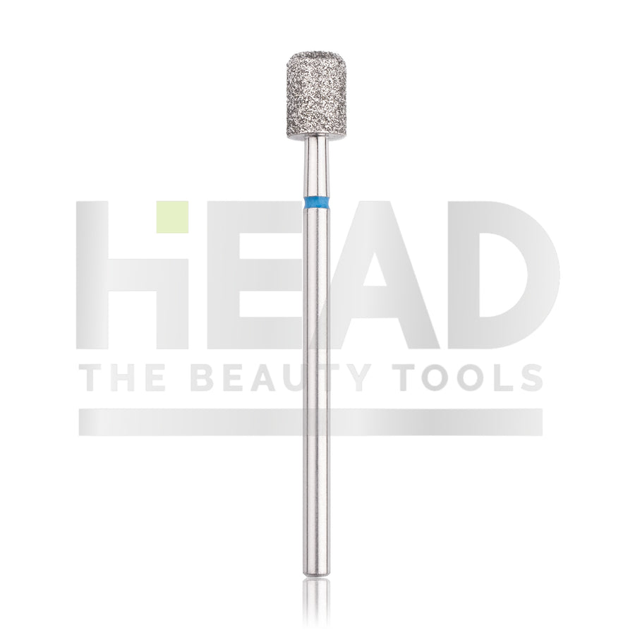 Diamond Bit - Cylinder - Safe Blue 5,0mm (Pedicure)