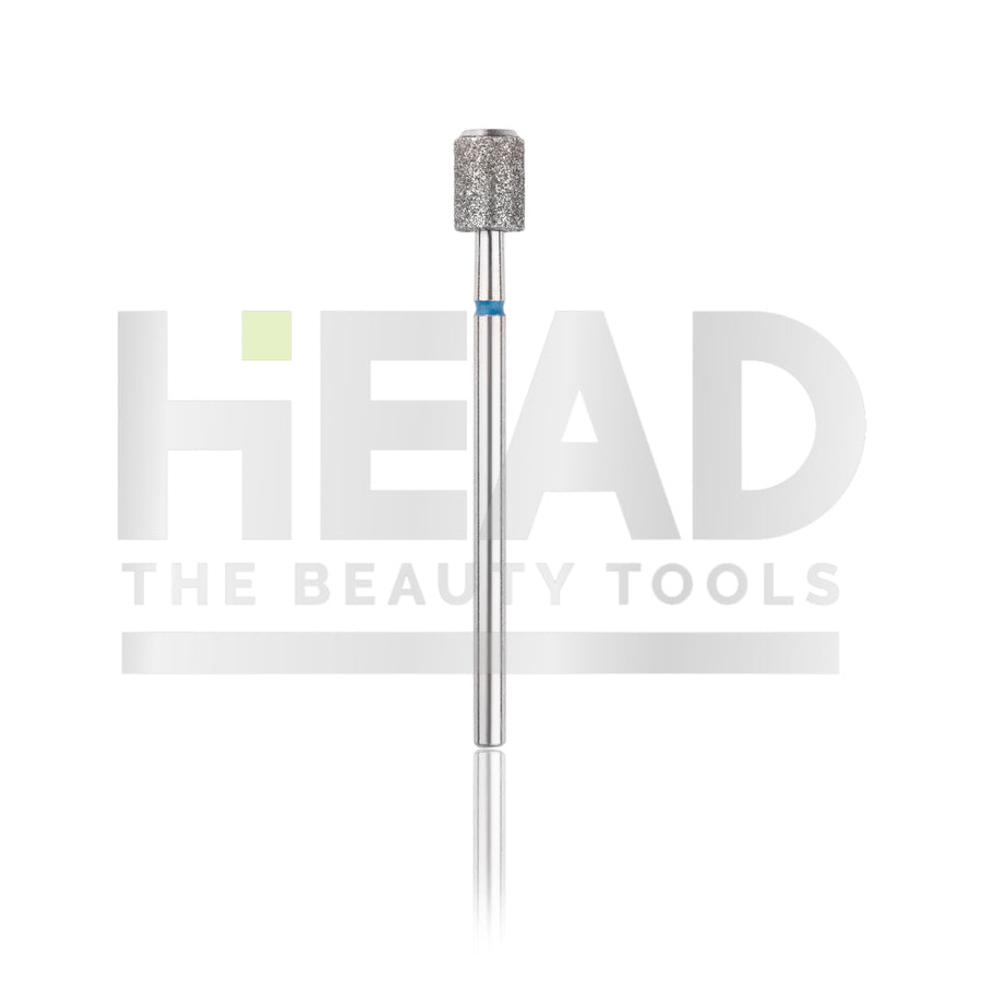 Diamond Bit - Cylinder - Blue 5,0mm (Pedicure Diabetic)