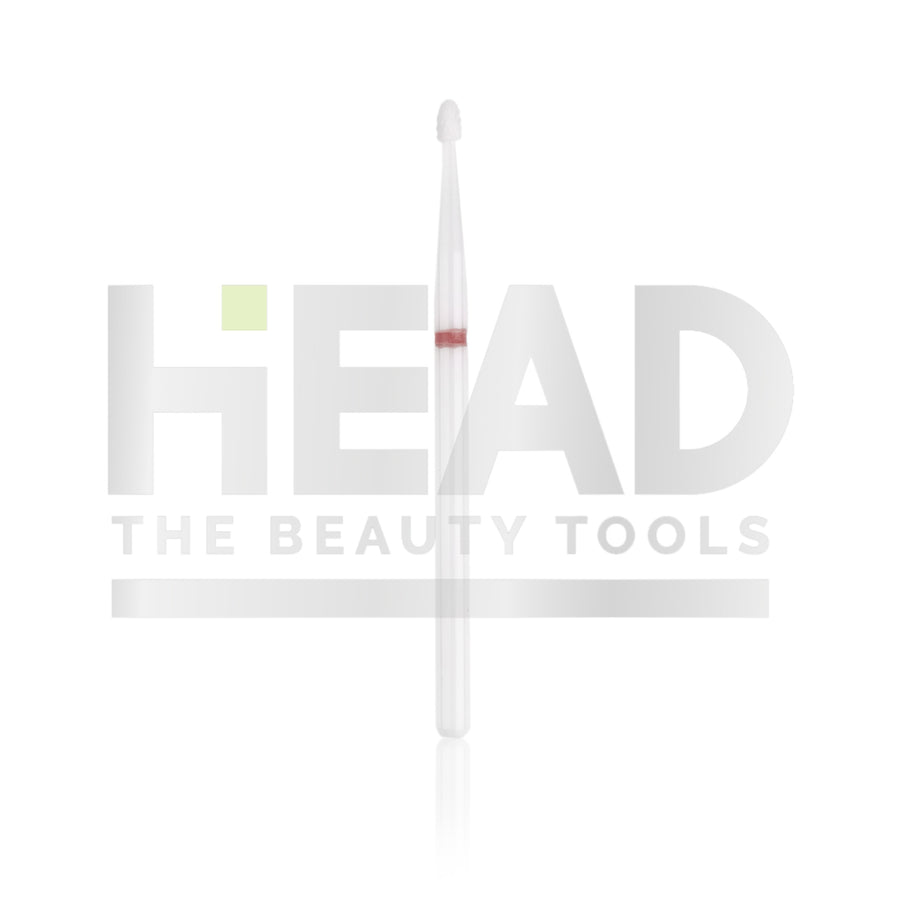 Ceramic Bit - Drop - Red 1,8mm (Manicure en Pedicure)