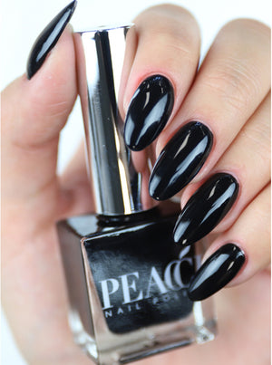Peacci Nagellak Jet Black 10ml
