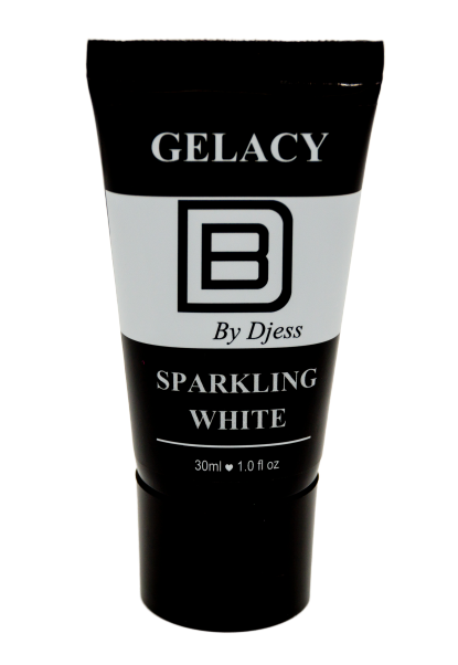 Gelacy Acrylgel ( Poly Gel ) Sparkling white 30 ml