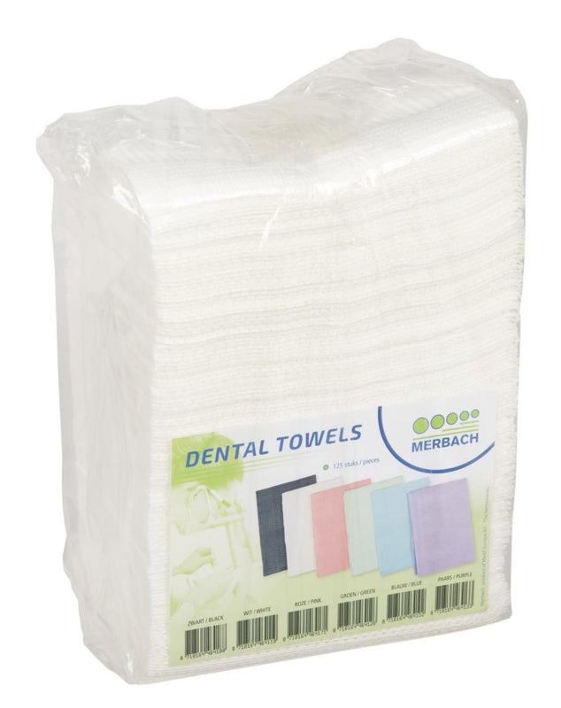 Table Towels White 125 stuks