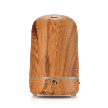 Wood Effect Light House Ultrasonic Aroma Diffusers
