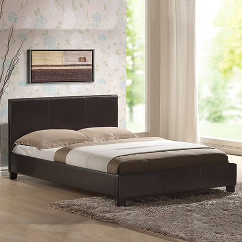 Mondeo Double Size Bedframe - Brown