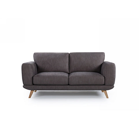 2 Seater Modern Stylish Brown Alaska Sofa