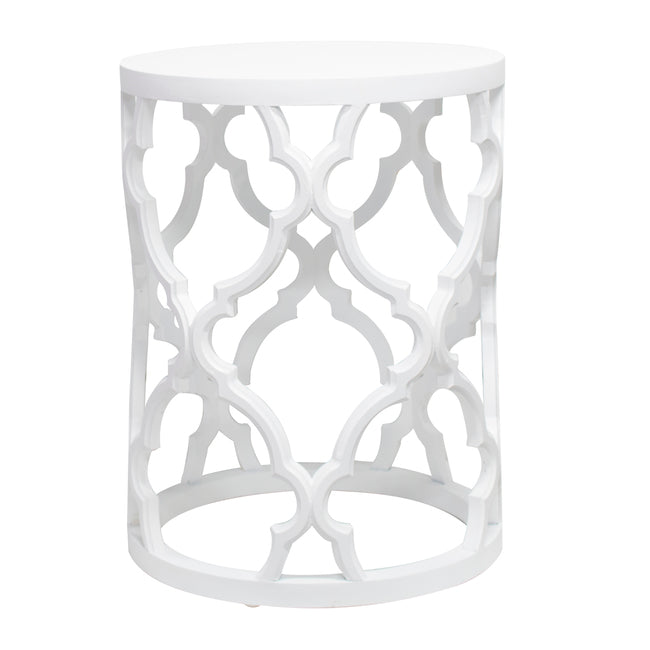 Mustique Side Table White