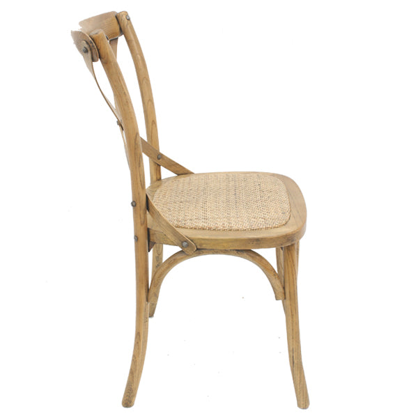 Crossback Dining Chair Natural