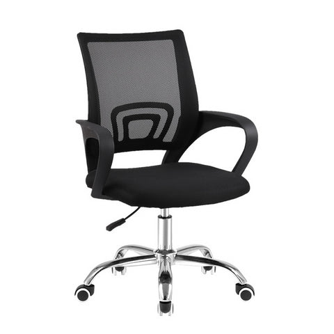 Executive Office Mesh Computer Chair  - Mid Back & Black