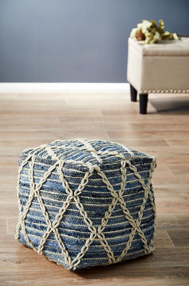 Innoko Home 518 Denim Ottoman