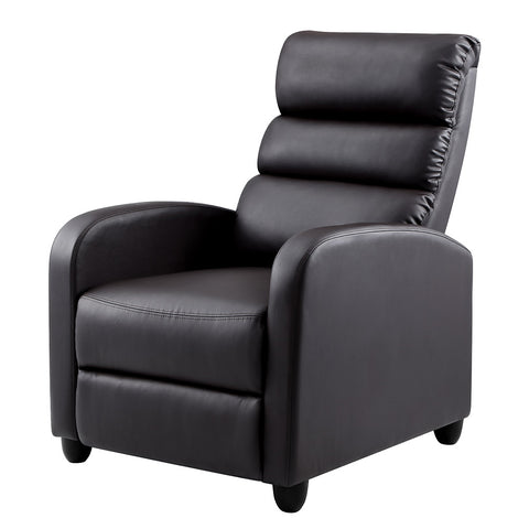 Luxury Recliner Armchair in Brown