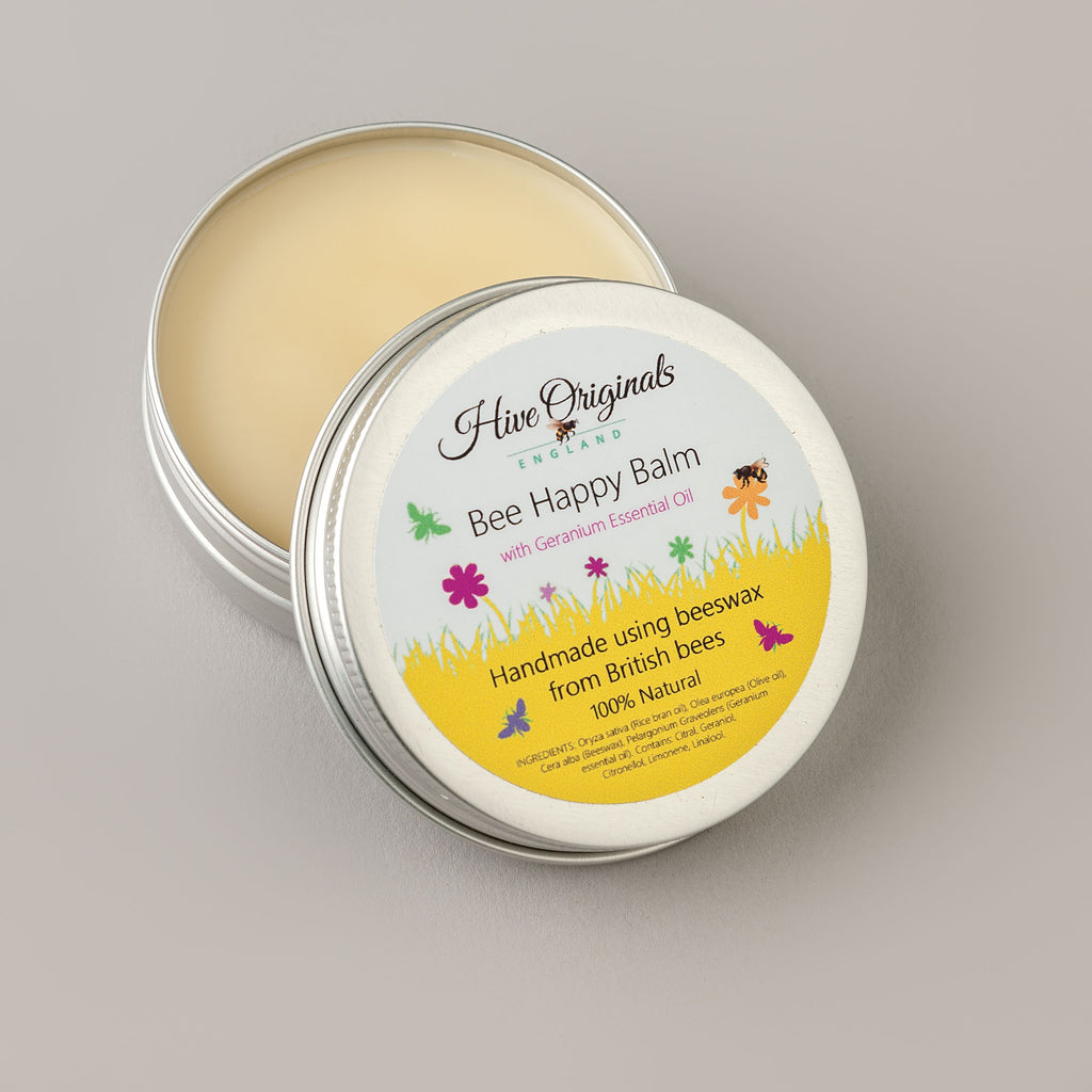beeswax hand balm, natural skincare