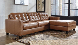 Baskove 2Piece Sectional with Chaise 11102S3 By Ashley Furniture from sofafair
