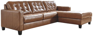 Baskove 2Piece Sectional with Chaise 11102S3