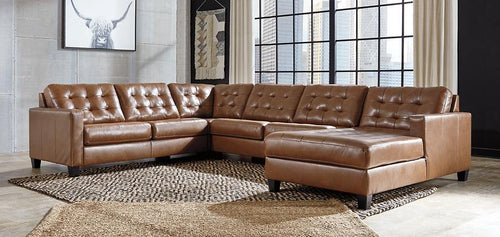 Baskove 4Piece Sectional with Chaise 11102S2 By Ashley Furniture from sofafair