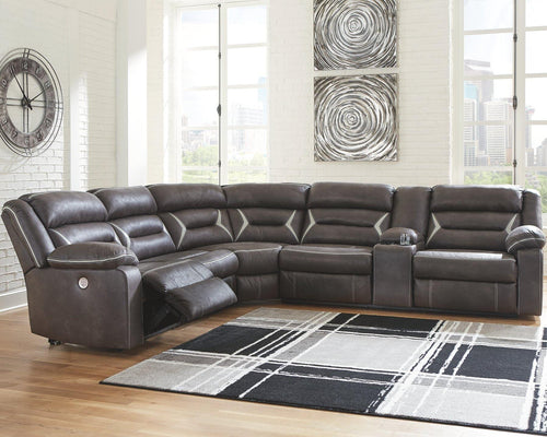 Kincord 4Piece Power Reclining Sectional 13104S3 By Ashley Furniture from sofafair