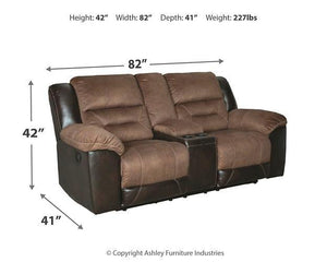Earhart Reclining Loveseat with Console 2910194